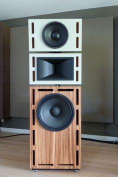 Open Baffle Speakers, Pro Audio Speakers, Audiophile Speakers, Hifi Audio, Whole Home Audio, Speaker Stands, Speaker System, Speaker Box Design, High End Audio
