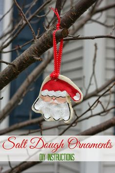 How-To: Salt Dough Ornaments