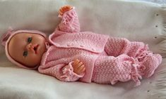 Adorable Baby Doll knitting pattern