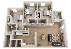 26 Richard Inspiration Ideas 4 Bedroom Apartments Apartment Floor Plans House Plans