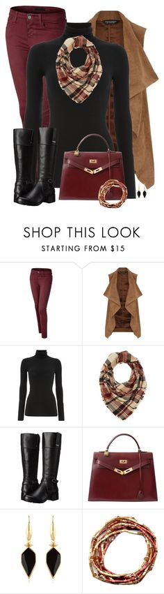 """Colored Jeans for Fall"" by sherbear1974 ❤ liked on Polyvore featuring Dorothy Perkins, Polo Ralph Lauren, Charlotte Russe, Bandolino, Hermès and Isabel Marant"