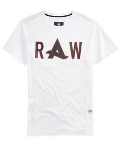 86f867c4f36 G-Star RAW Men's Afrojack Graphic-Print Logo T-Shirt & Reviews - T-Shirts -  Men - Macy's