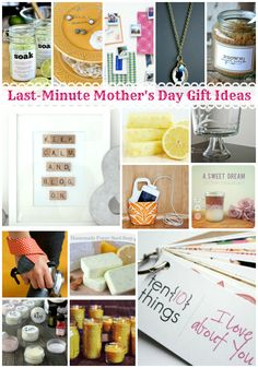 15 Last-Minute Mothers Day Gift Ideas | snapcreativity.com #DIY #craft #MothersDay