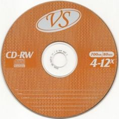 ДИСК CD-RW VS