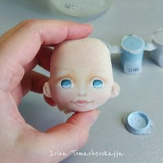 Ручная КРАСОТЕНЬ - творим красоту вместе Eye Painting, Doll Painting, Doll Sewing Patterns, Sewing Dolls, Doll Face Paint, Enchanted Doll, Doll Eyes, Doll Tutorial, Waldorf Dolls