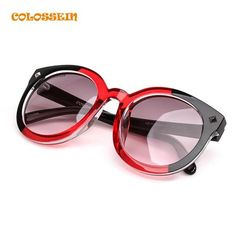 These sunglasses are the perfect must-have accessory for any vintage look featuring an oversized round sunglasses shape for additional coverage and a touch of r Sunglasses 2017, Sunglasses Women, Oversized Round Sunglasses, Diamonds In The Sky, Color Lenses, Face Framing, Round Frame, Models, Sunglass Frames