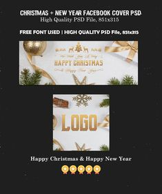 Free Happy New Year Facebook Covers Ver. 2 is Fully editable and all layers are Organized in PSD Template. Easy to edit. Download Now! :) via @creativetacos Happy New Year Logo, Happy New Year Facebook, Creative Facebook Cover, Facebook Timeline Covers, Best Photoshop Actions, Adobe Photoshop, Photography Templates, Fb Covers, Photoshop Tutorial