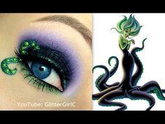 Disney's Morgana Makeup Tutorial. Youtube channel: full.sc/SK3bIA