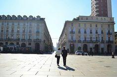 Pausa pranzo in centro. Torino.
