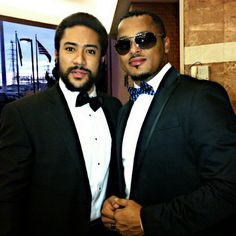 Majid Michel and Van Vicker
