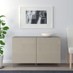 IKEA BESTA White, Selsviken/stallarp High-Gloss/white Storage combination with doors At Home Furniture Store, Modern Home Furniture, Furniture Design, Soft Closing Hinges, Frame Shelf, Ikea Family, Knobs And Handles, Interior Accessories, Adjustable Shelving