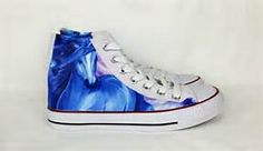 Unicorn print shoes, horse fantasy fabric covered plimsolls, trainers, hi tops. goth punk alternative custom rockabilly shoes by RockYourSole on Etsy Unicorn Hunter, Rockabilly Shoes, Unicorn Print, Plimsolls, Custom Shoes, Fabric Covered, Uk Shop, Converse Chuck Taylor, Trainers