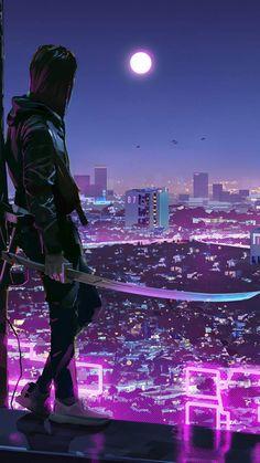 City Ninja IPhone Wallpaper - IPhone Wallpapers