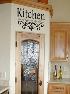 Kitchen Remodel Discover Kitchen Vinyl Wall Decal- Kitchen the Heart of the Home- Lettering Decor Sticky Kitchen Vinyl Wall Decal Kitchen the Heart of the Home Kitchen Wall Quotes, Kitchen Wall Decals, Vinyl Wall Quotes, Vinyl Wall Decals, Vinyl Art, Kitchen Walls, Wall Stickers, Wall Decor For Kitchen, Kitchen Vinyl Sayings