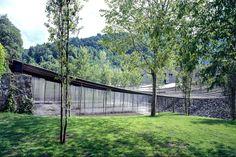 Les Cols Restaurant Marquee   Architect Magazine   RCR Arquitectes, Olot, Girona, Spain, Commercial, Entertainment, New Construction, 2017 Pritzker Architecture Prize