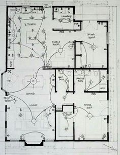 How To Create A Lighting House Plan Student Work  Lighting Plan By Gina  Chimienti, Via Behance