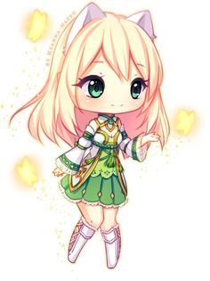 Commission - Reveka Chibi by Hyanna-Natsu on DeviantArt Mais Anime Neko, Anime Yugioh, Chibi Manga, Anime Pokemon, Dibujos Anime Chibi, Cute Anime Chibi, Manga Anime, Chibi Cat, Chibi Kawaii