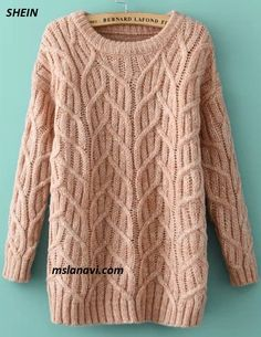 Вязаное платье-свитер от SHEIN - СХЕМА НА БЛОГЕ ПО ССЫЛКЕ http://mslanavi.com/2018/03/vyazanoe-plate-sviter-ot-shein/