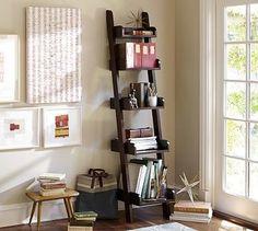 Studio Narrow Wall Shelf, Set of 2, Espresso stain - traditional - wall shelves - Pottery Barn