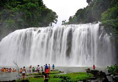 You will savor seeing a 3-tiered, 55-meter tall, 95-meter wide Tinuy-an Falls… Philippines' grandest and most majestic. It is already viewed internationally
