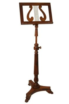 EMS-Single-Tray-Victoria-Music-Stand-Sheesham-Wood-Music-Stand-Adjustable-Stand