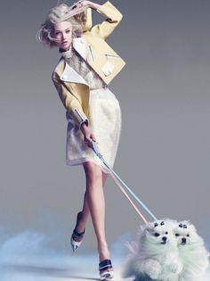 Olivka Chrobot By Troyt Coburn For Marie Claire Australia- June 2012