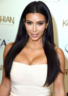 Kim promotes Kardashian Sun kissed at Ulta Beauty in LA