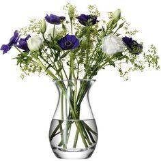LSA Flower Posy Vase - 17.5cm ($21) ❤ liked on Polyvore featuring home, home decor, vases, leaf vase, lsa international, handmade vase, posy vase and handmade home decor