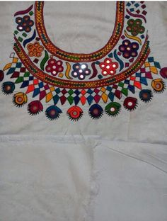 Hand Embroidery Hand Made Dress Indian Design By Villagehandycraft