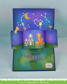 Upon A Star Pivot Pop Up card