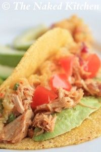 Slow Cooker Recipes | The Naked Kitchen - Cuban Pork Tacos