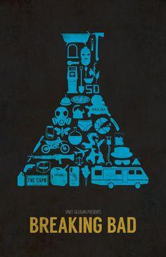 Breaking Bad poster by Dylan West (aka The Pixel Empire) in Miami, OK Links: Buy… Breaking Bad Poster, Breaking Bad Shirt, Breaking Bad Series, Breaking Bad Seasons, Geeks, Beaking Bad, Heisenberg, Great Tv Shows, Film Serie