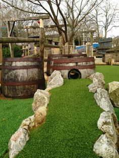 Mini Golf Course Ideas | The Gold Rush Falls Adventure Golf course has been refurbished for ...