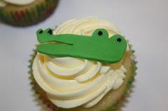 Aligator Cupcake