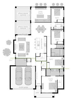 Portsea One Zero - Floor plan - Injecting the right balance of style…