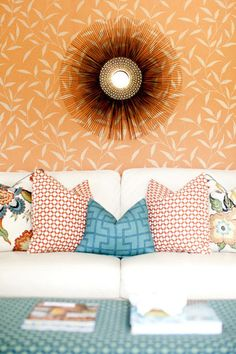For a polished look on sofas and beds every time, keep this simple ratio for pillow arranging in mind