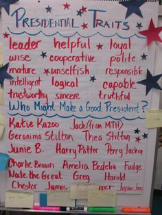 What a fun way to teach about the election - traits, parties, electoral college, fundraising, campaigns, etc.