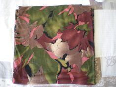 grand coupon de jersey imprimé grosses fleurs : Tissus Habillement, Déco par nany-made