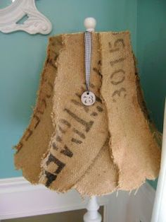 Vintage Junky - Creating Character: One more thing to do with a coffee sack