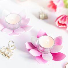 Fimo-massasta voit korujen lisäksi valmistaa vaikkapa tuikkukuppeja. Tea Lights, Candle Holders, Candles, Fimo, Tea Light Candles, Porta Velas, Candle Sticks, Candle, Candle Stand