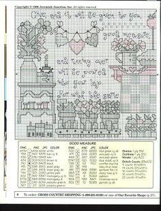 Patrones punto de cruz (solo country) (pág. 5) | Aprender manualidades es facilisimo.com