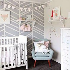 Lovely chair || Wall || Nursery