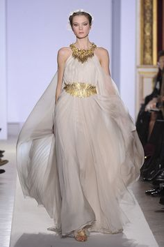 Aus der Antike auf den Laufsteg: Zuhair Murad Haute Couture 2013