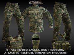A-TACS & Multicam Tactical Gear