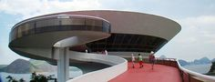Niterói Contemporary Art Museum. Rio de Janeiro