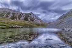 Blue lake by Marcello alessandro