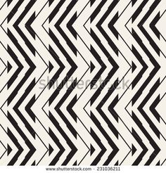 Seamless geometric pattern. Zigzag stripes. Vector graphic texture