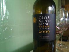 #avuitastem un Clos Mont-blanc Syrah, 2009, Conca de Barberà