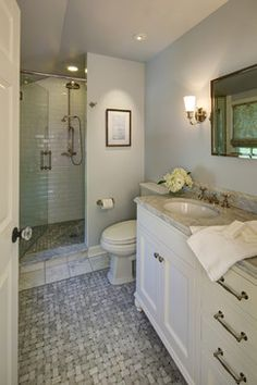 White Subway Tile Shower Design Ideas, Pictures, Remodel and Decor