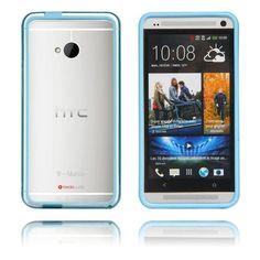 Anti-Stöt (Ljusblå) HTC One-Bumper